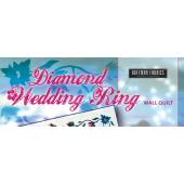 Diamond Wedding Ring Wall Quilt Pattern by Judy Niemeyer