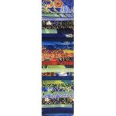 Japanese Cobalt Rainbow aka Jelly Roll Sewing Buddies Australia