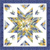 Almost a Lone Star by Cozy Quilt Designs