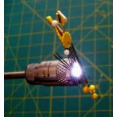 Telescopic LED Pen Magnet
