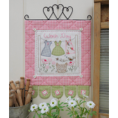 Wash Day - Wall hanging by Sally Giblin, The Rivendale Collection Sewing Buddies Australia