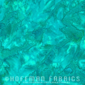 1895 Watercolour Batik by Hoffman #322 Bettafish Sewing Buddies Australia