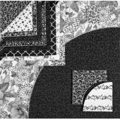 Drunkards Path Pre-Cut Quilt Kit - Black and White Sewing Buddies Australia
