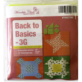 Back To Basics 3g Patchwork Template Set - Matilda's Own Sewing Buddies Australia