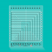 Creative Grids Stripology Squared Ruler - Sewing Buddies Australia