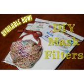 Mask Filter Inserts POST INCLUDED  for DIY Masks by Matilda's Own - Sewing Buddies Australia