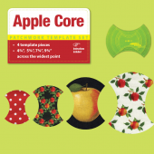Apple Core Patchwork Template Set - Matilda's Own Sewing Buddies Australia