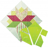 Brides Bouquet Patchwork Template - Matilda's Own