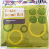 Circle Donut Patchwork Template Set Matilda's Own Sewing Buddies Australia