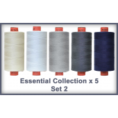 Essentials 5 Colour Set 2 Rasant Thread 1000M Sewing Buddies Australia
