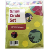 Circle Set Small Patchwork Template Matilda's Own Sewing Buddies Australia