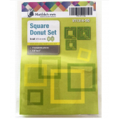 Square Donut Patchwork Template Set Matilda's Own Sewing Buddies Australia