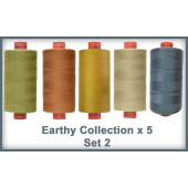 Earthy Toned 5 Colour Set 2 Rasant Thread 1000M Sewing Buddies Australia