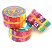 Rainbow Colour Wheel aka Jelly Roll Sewing Buddies Australia