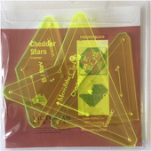 Cheddar Stars Patchwork Template Meredithe Clark Signature Collection