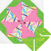 Cheddar Stars Patchwork Template Meredithe Clark Signature Collection Sewing Buddies Australia