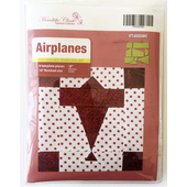 Airplanes Patchwork Template - Meredithe Clarke Signature Collection Sewing Buddies Australia
