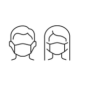 Creative Grids Facemask Template