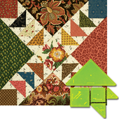 Parsons Geese Patchwork Template Meredithe Clark Signature Collection Sewing Buddies Australia