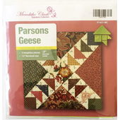 Parsons Geese Patchwork Template Meredithe Clark Signature Collection