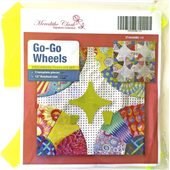 Go Go Wheels 12 Inch Patchwork Template Meredithe Clark Signature Collection Sewing Buddies Australia