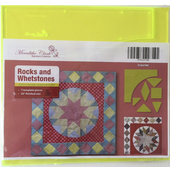 Rocks and Whetstones Patchwork Template Meredithe Clark Signature Collection Sewing Buddies Australia