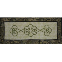Celtic Table Runner by Zoe Clifton Sewing Buddies Australia