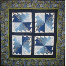 Cool Fans Quilt - by Zoe Clifton Sewing Buddies Australia