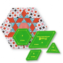 Diamond Hexagon Patchwork Template - Matildas Own 2 Sewing Buddies Australia