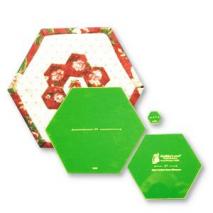Framed Hexagon Patchwork Template Matilda's Own Sewing Buddies Australia