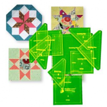 Hoshi Stars Patchwork Template Sewing Buddies Australia