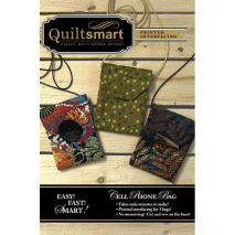Mobile (Cell) Phone Bag Fun Pack by Quiltsmart Sewing Buddies Australia