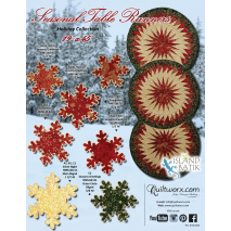 Seasonal Table Runner Pattern Judy Niemeyer 2 Sewing Buddies Australia