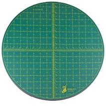 "Self Healing Rotating Cutting Mat (Round 15"" 38 cms) Sewing Buddies Australia"