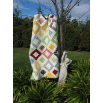 Square Dance Quilt - by Zoe Clifton Sewing Buddies Australia