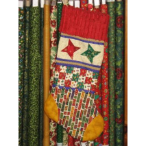 Christmas Stocking by Zoe Clifton Sewing Buddies Australia