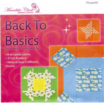 Back To Basics 3g Patchwork Template Set - Matilda's Own 2 Sewing Buddies Australia