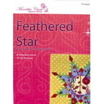 Feathered Star Patchwork Template Meredithe Clark Signature Collection Sewing Buddies Australia