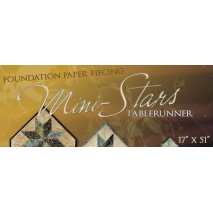 Mini Stars Table Runner Pattern Judy Niemeyer 2 Sewing Buddies Australia