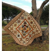 Times Past Quilt - by Zoe Clifton Sewing Buddies Australia