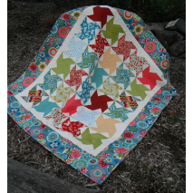 Wind Mill Quilt Pattern by Zoe Clifton Sewing Buddies Australia