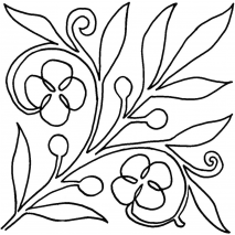 Spring Bloom #30408 by Full Line Stencils