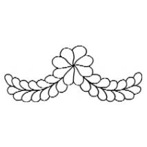 Feather Flower Swag #30426 Sewing Buddies Australia