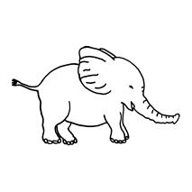 Baby Elephant #30479 Sewing Buddies Australia