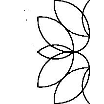 "Water Lilly 10"" #30518 Sewing Buddies Australia"