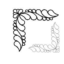 Feather Corner, 2x #30584 Sewing Buddies Australia