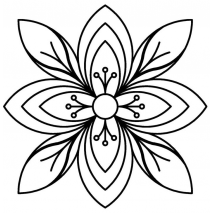 Bunchberry Flower #30590 Sewing Buddies Australia