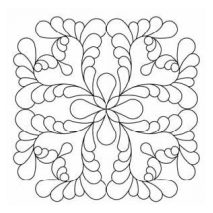 Beau-Feather #30591 by Full Line Stencils