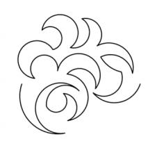 Overall Swirl #30602 Sewing Buddies Australia
