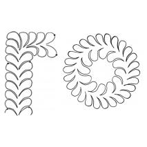 Feather Wreath #30673 Sewing Buddies Australia